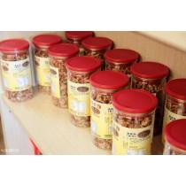 黃家蝦酥 原味蝦酥$300 辣味蝦酥$300 1罐約150公克